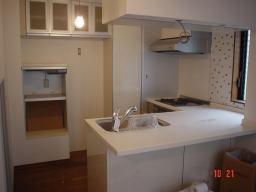 キッチンリフォームの施工事例写真